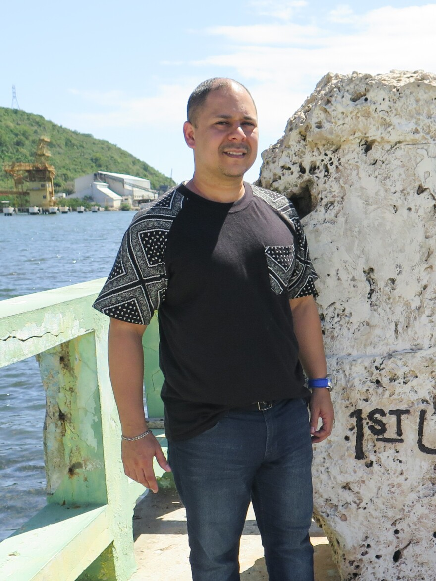Francisco Rodriguez, is the museum director in Guanica. Most people there support statehood because of the town's historical connection to the U.S.