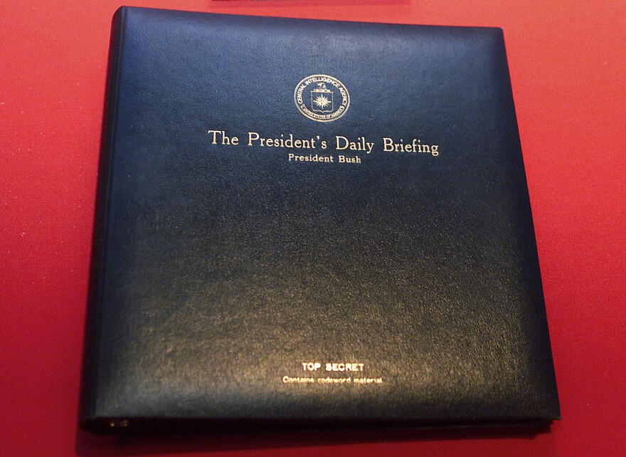 The President's Daily Briefing is the top-secret intelligence report presented to the president every weekday. By tradition, the briefing is also offered to a president-elect, though officials say this hasn't happened yet with Joe Biden.