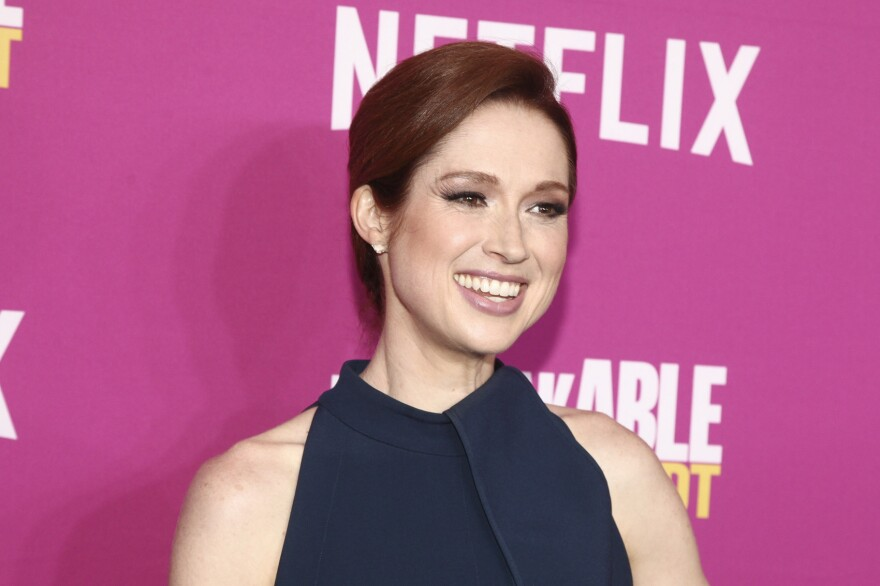 """Ellie Kemper attends Netflix's """"Unbreakable Kimmy Schmidt"""" #NetflixFYSEE For Your Consideration event at the DGA Theater on Sunday, June 3, 2018, in New York. (Photo by Andy Kropa/Invision/AP)"""