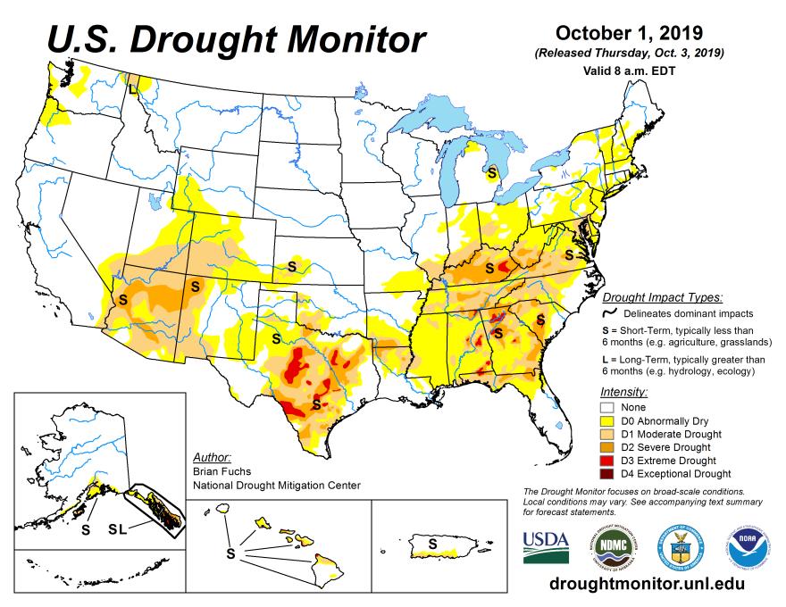 U.S. Drought Index