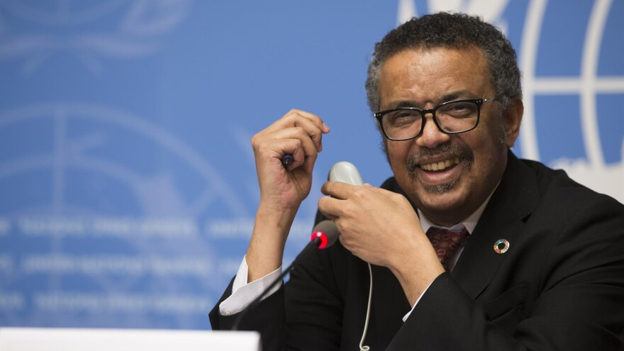 """""""The greatest threat we face now is not the virus itself, it's the lack of global solidarity and global leadership,"""" says Tedros Adhanom Ghebreyesus, the World Health Organization's director-general."""