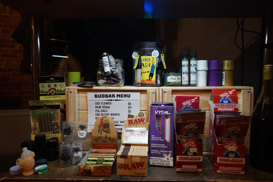 Medical marijuana cardholders can bring their own marijuana to The Cola Lounge or purchase CBD flower and paraphernalia.