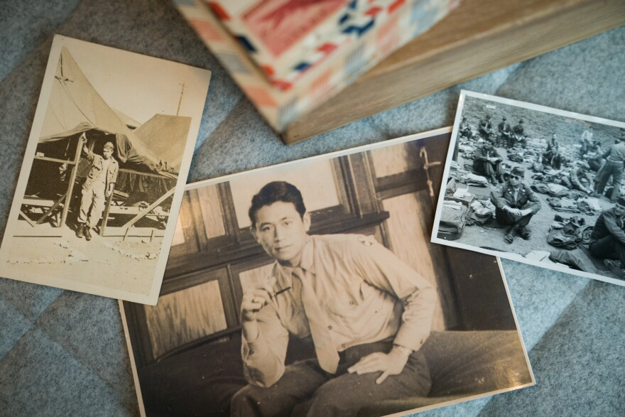 Richard Goo, whose parents emigrated from China, was stationed in Japan as part of the U.S. occupation after World War II.