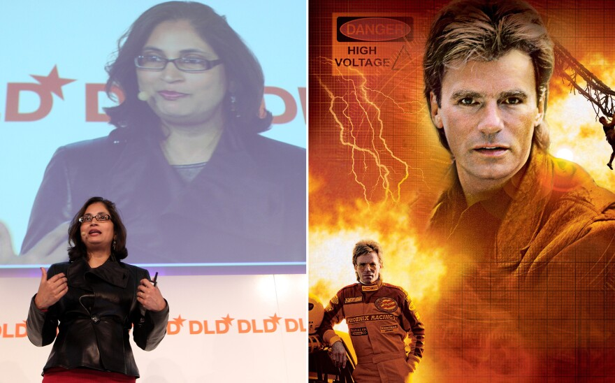 When it comes to being a cool engineer, Padmasree Warrior, an executive at Cisco Systems, gives Richard Dean Anderson's fictional MacGyver a run for his money.