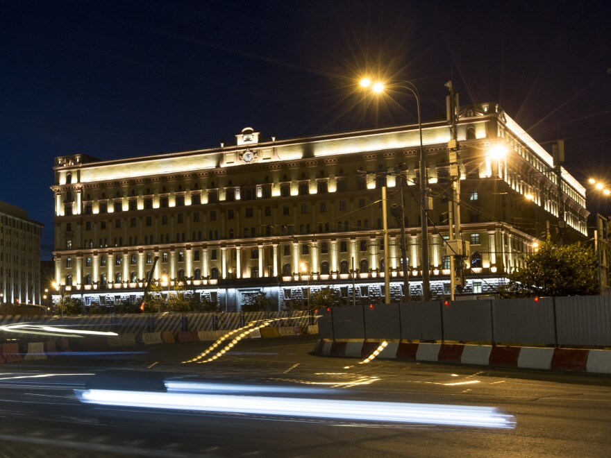 Media outlets are reporting one Federal Security Service officer was killed in the shoot out in central Moscow.