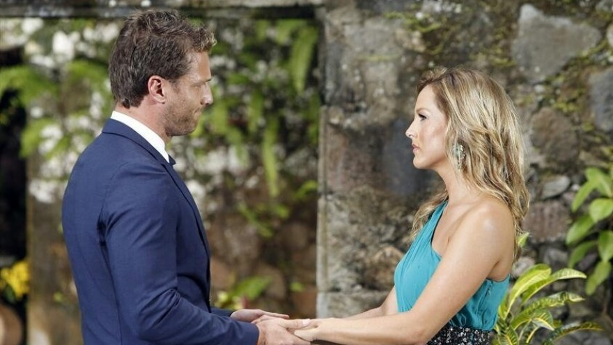 """This is what """"I didn't pick you"""" looks like, coming from <em>Bachelor</em> Juan Pablo. Sorry, Clare."""