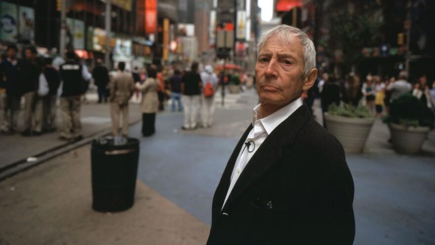 Robert Durst, filmed on the streets of Manhattan for HBO's <em>The Jinx: The Life and Deaths of Robert Durst</em>.
