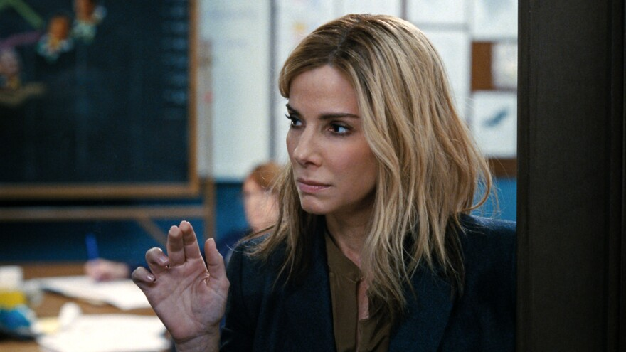 Sandra Bullock stars as Jane in the satirical film <em>Our Brand Is Crisis.</em>