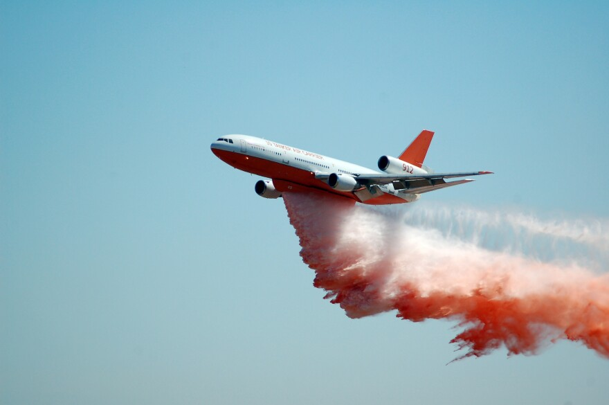 Big airtankers like this one can drop thousands of gallons of flame retardant, but they aren't necessarily the best way to fight every wildfire.