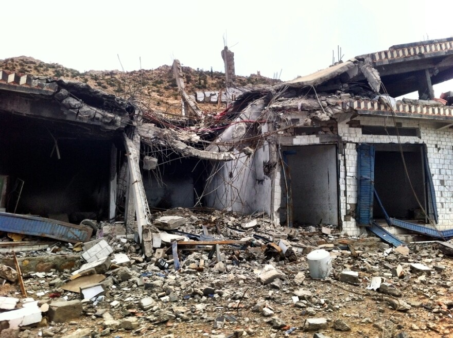 A hospital supported by Doctors Without Borders in Haydan, Yemen, was destroyed by airstrikes on Oct. 26.