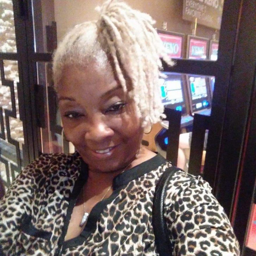 Cynthia Whitfield, a nursing home worker at Grand Manor Nursing & Rehabilitation, who passed away on April 21, 2020.