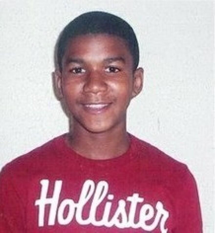 An undated family photo of Trayvon Martin.