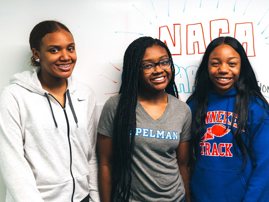 Washington, D.C., high school students India Skinner, Mikayla Sharrieff, and Bria Snell became the target of racist online trolls after becoming finalists in a NASA competition.