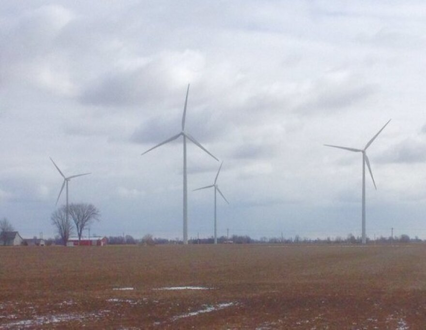 Wind Farm in Western Ohio