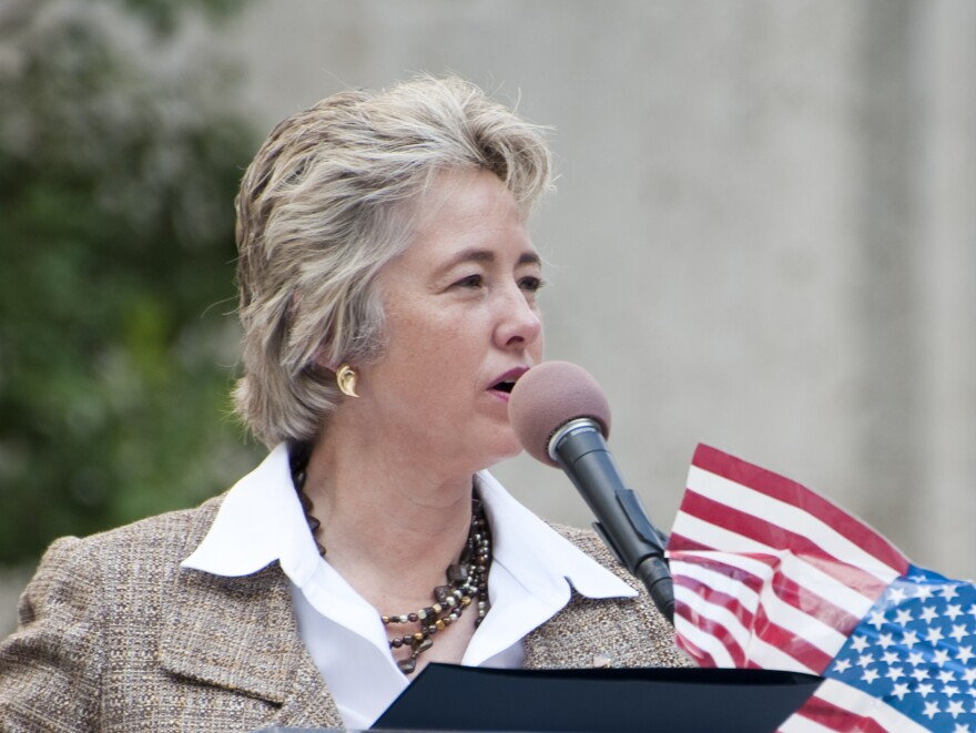 Houston Mayor Annise Parker, shown here at City Hall in September 2010, is a good bet for re-election.