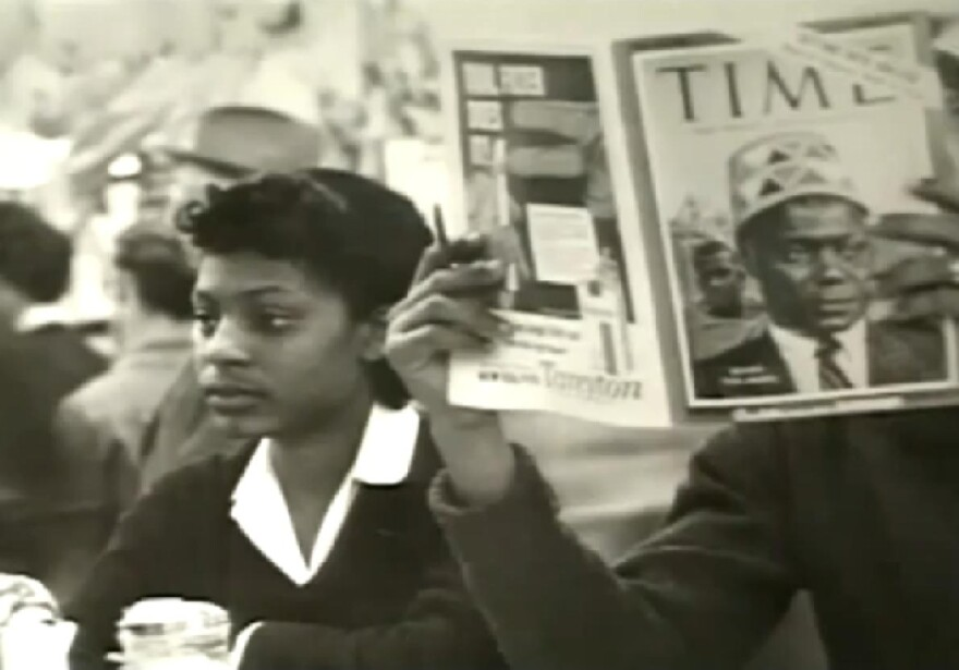 Still image from The Strange Demise of Jim Crow documentary