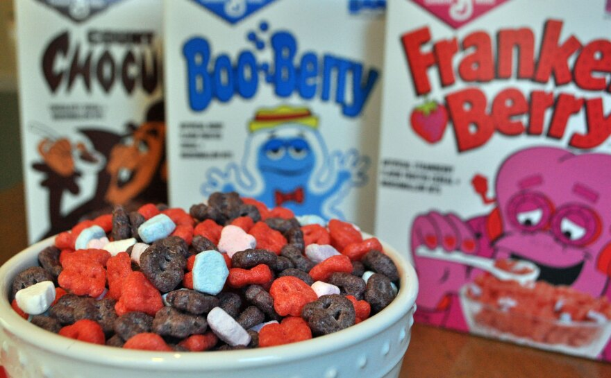 This Halloween season, the three big Monster Cereals will be joined by Frute Brute and Fruity Yummy Mummy, which haven't been on the market in decades.
