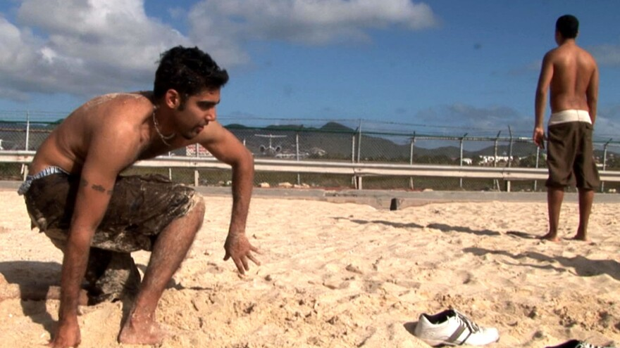 Jason DaSilva was on a family vacation in 2006 when he fell and couldn't get up. His multiple sclerosis symptoms have progressed to the point that he can't walk.