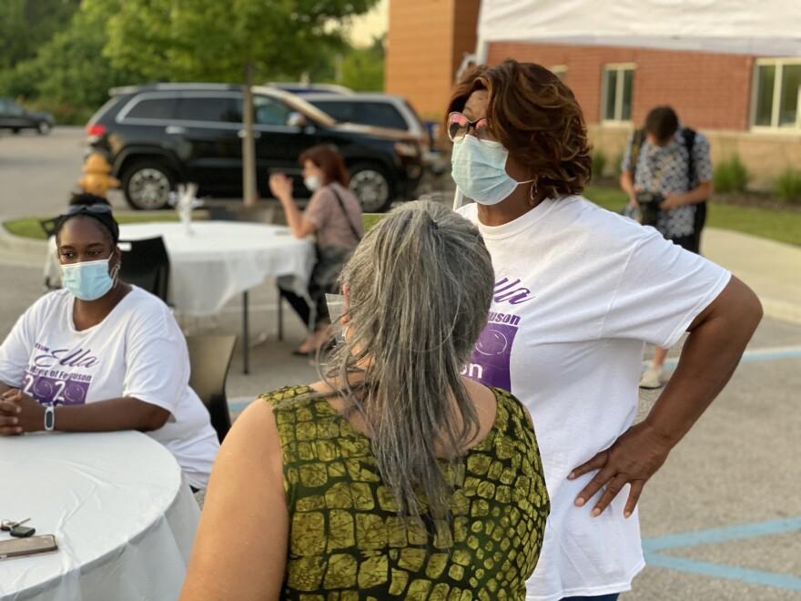 Ella Jones was elected as Ferguson's first African-American mayor on June 2, 2020.