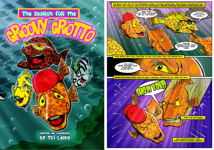 To get the message to kids about ocean conservation, Stacy Jupiter commissioned a comic book starring fish.