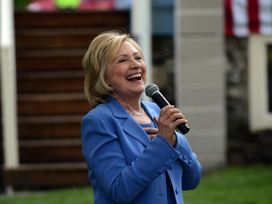 New polls show that voters in key swing states view Clinton unfavorably — by a wide margin.