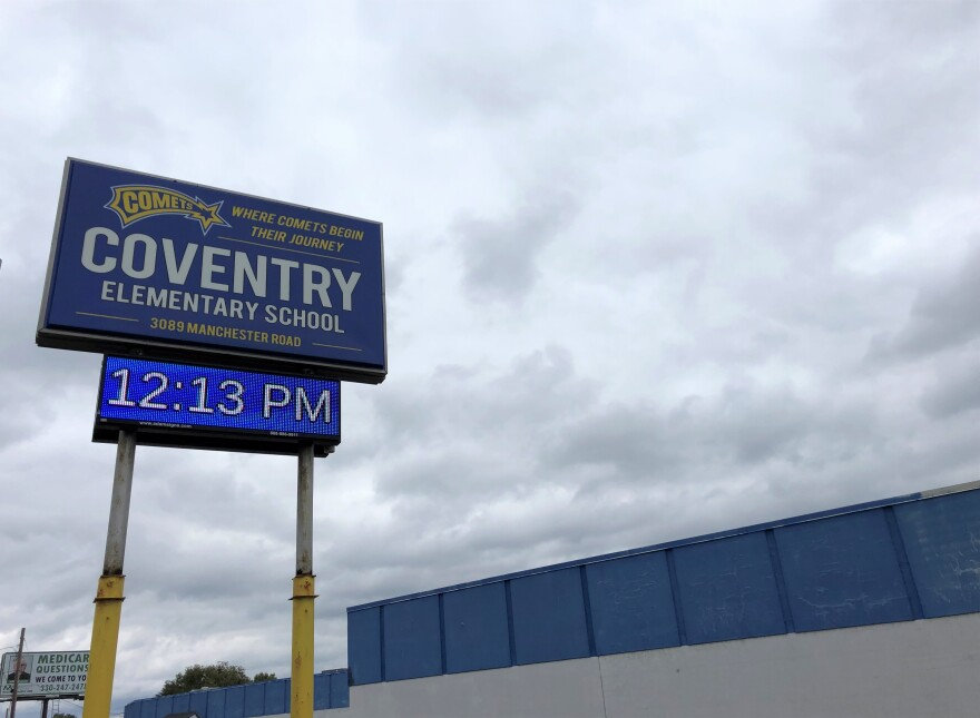 coventry school sign
