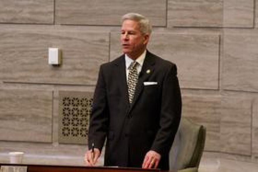 Sen. Rob Schaaf, R-St. Joseph, is one of numerous senators threatening to block any attempt of approving Gov. Eric Greitens' nominees to the Missouri Board of Education.