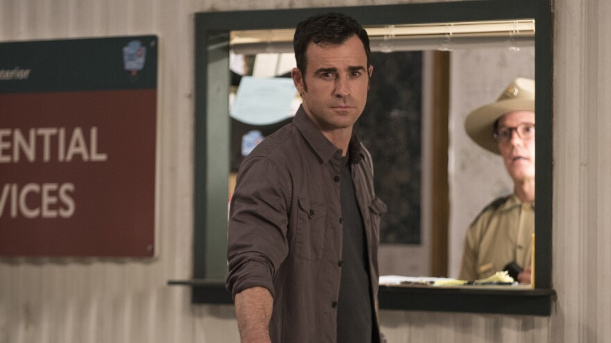 Justin Theroux plays a former police chief who has moved from New York to Texas and is trying to create a new family in the second season of the HBO series, <em>The Leftovers.</em>