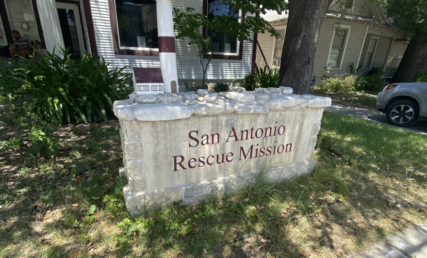 San Antonio Rescue Mission is a men's shelter in San Antonio. It was shut down in March, at the beginning of the city's months-long concern about the spread of the coronavirus.