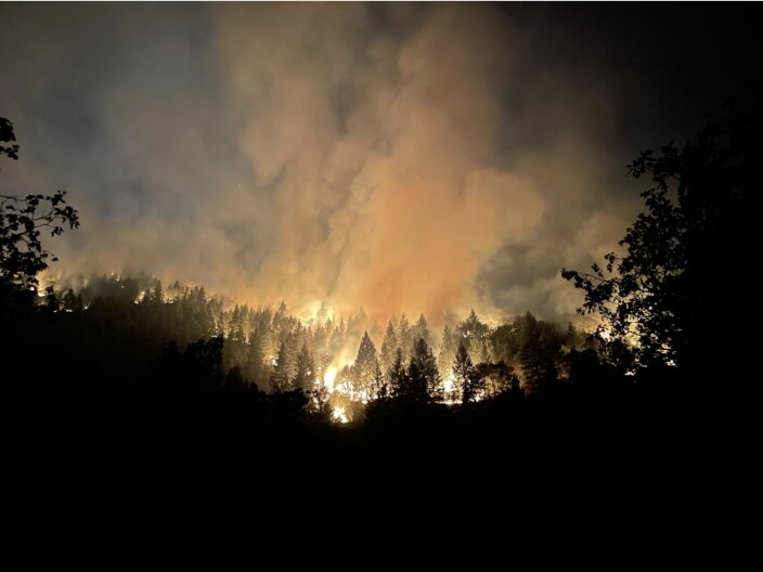 Climate Change Pushes Fires Higher Into The Mountains