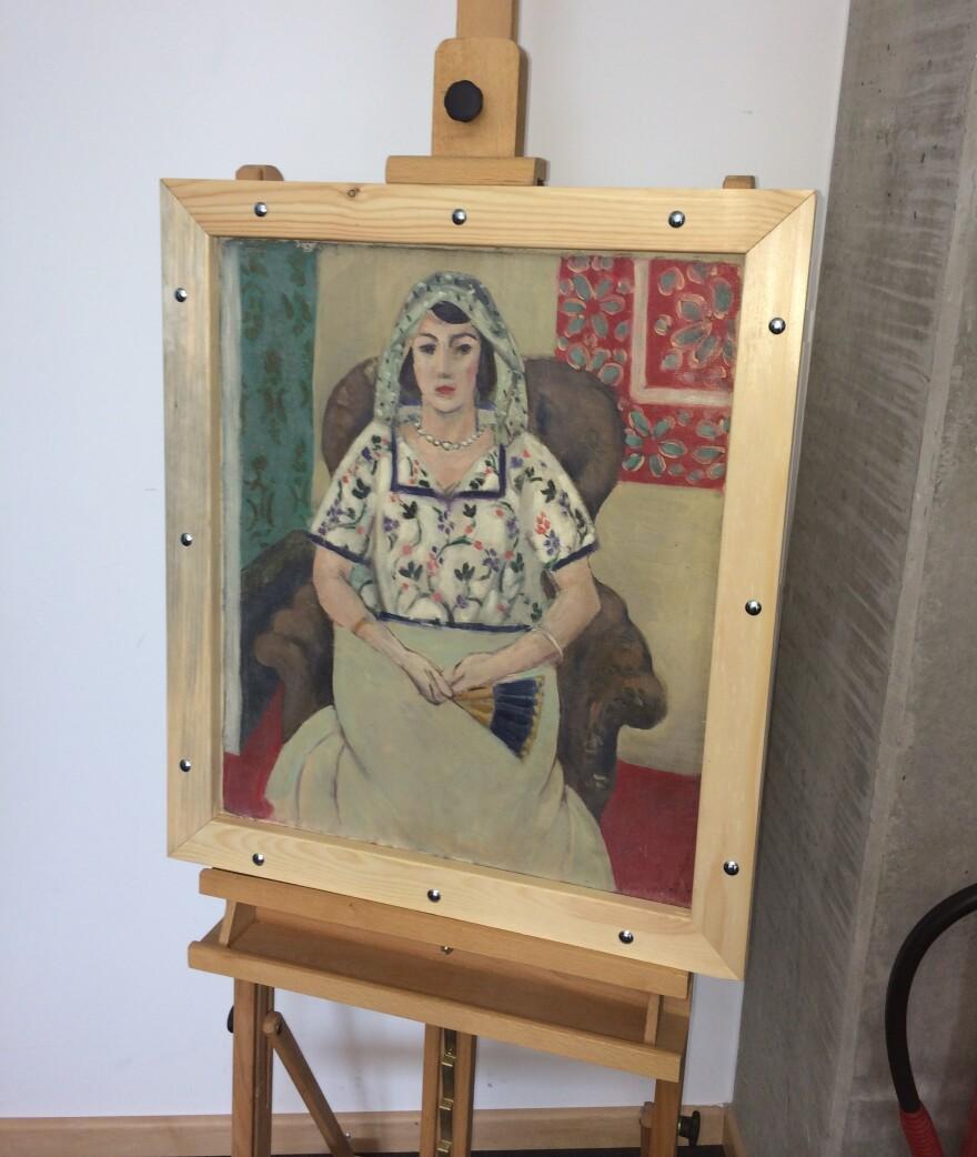 Henri Matisse's <em>Seated Woman </em>was found in an apartment in Munich.