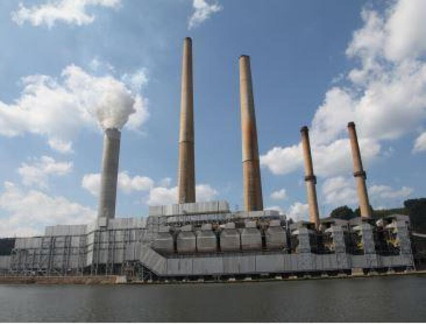 First Energy's Sammis coal-fired power plant