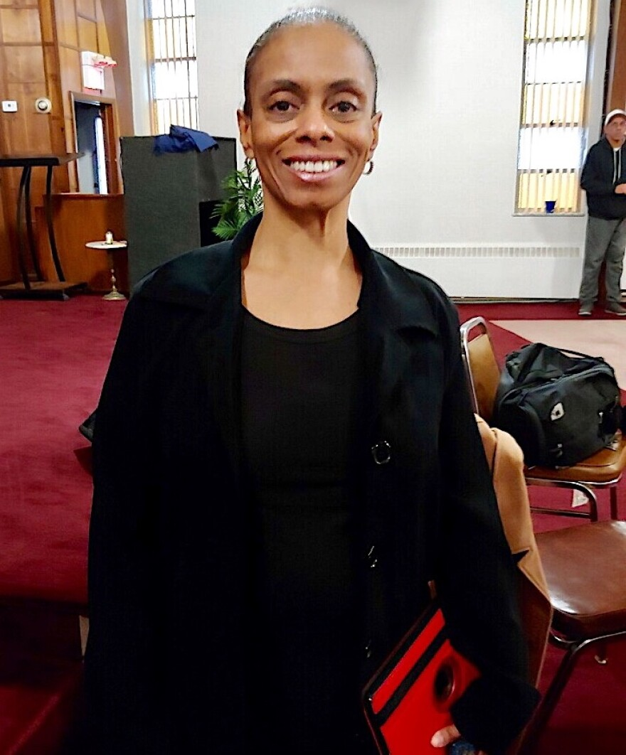 Yolanda Simpson heads Black Lives Matter Miami Valley.
