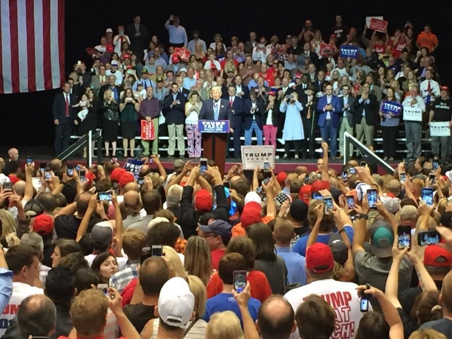Trump at Canton rally