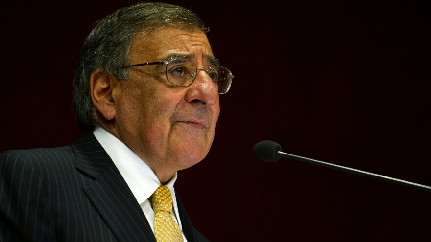 """U.S. Defense Secretary Leon Panetta, shown speaking in India last week, said the U.S. was """"reaching the limits of [its] patience"""" with Pakistan. He is one of several U.S. officials to deliver sharp public criticism of Pakistan recently."""