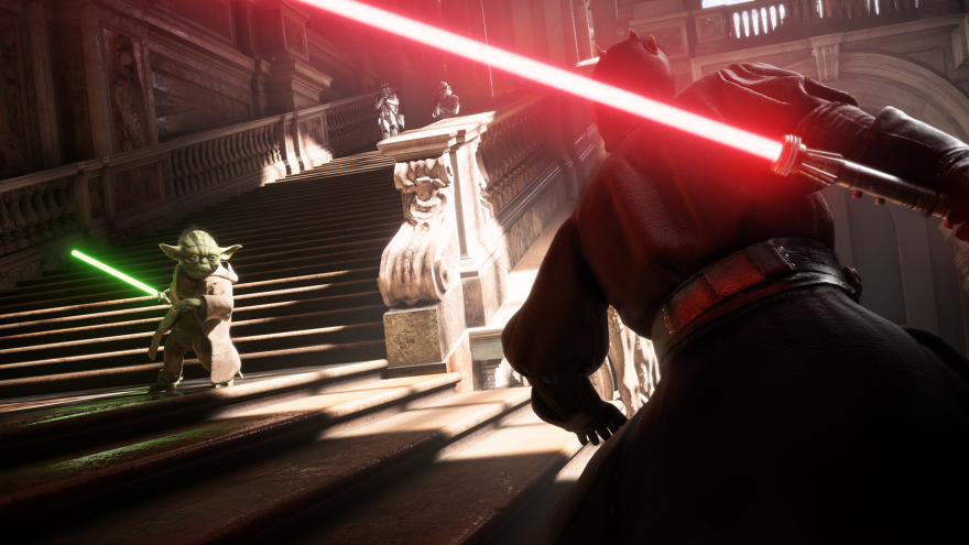 Star Wars Battlefront II, a new game from Electronic Arts set in the Star Wars universe, is scheduled to be released on Friday.