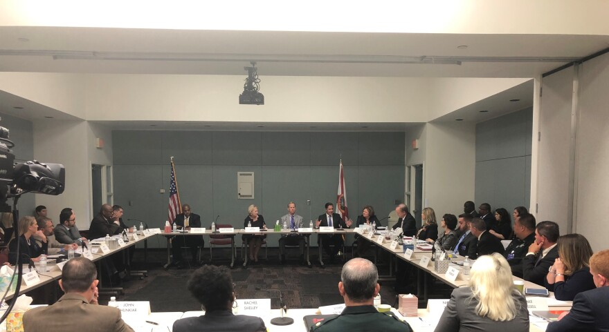 Educators at the Florida Department of Education discuss new ways to protect students.