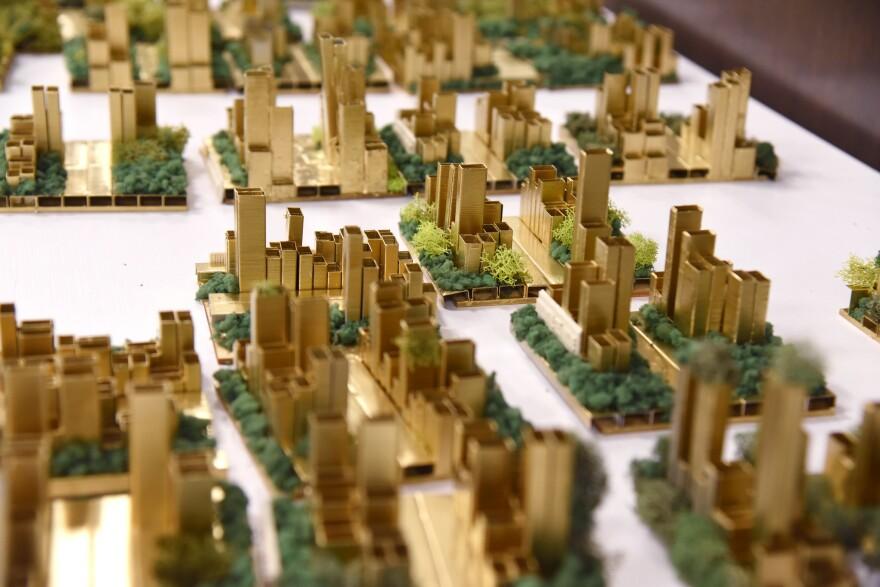 Hip Hop Architecture Camp participants created an alternative cityscape. [6/21/19]