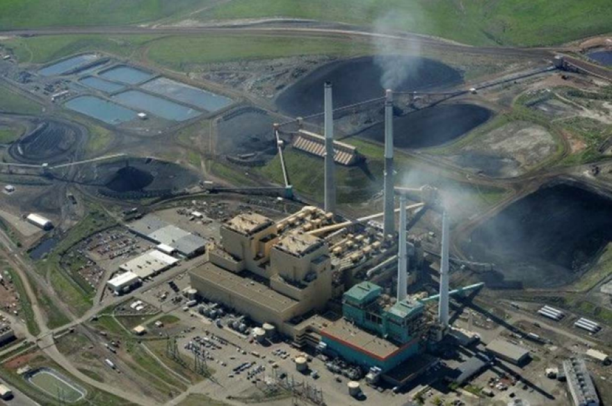 The Colstrip coal-fired power plant in Montana has a complex of coal-ash ponds that covers more than 800 acres.