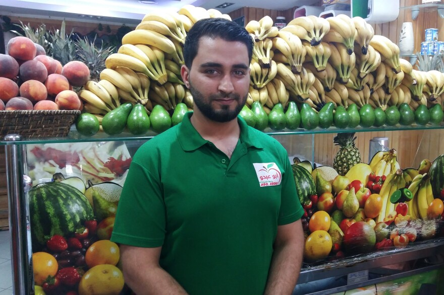 "Majd al-Hassan, 26, a Syrian refugee who works in a fruit smoothie shop in Istanbul's Fatih neighborhood, has lived in Turkey for two years. ""We've got Syrian supermarkets, Syrian restaurants — just like back home,"" he says. ""I haven't even applied for a Turkish ID card. If peace comes to Syria, I'll go home tomorrow."""