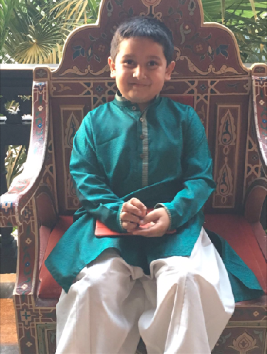 Eight-year-old Armaan Ahmed of Town and Country said he wants to fast as many times as his older brother has during Ramadan.