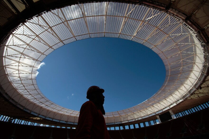 Remodeling the National Stadium Mane Garrincha in Brasilia, Brazil, for the FIFA World Cup cost the Brazilian government $900 million.