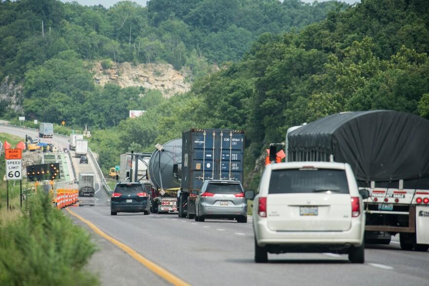 Construction on I-70