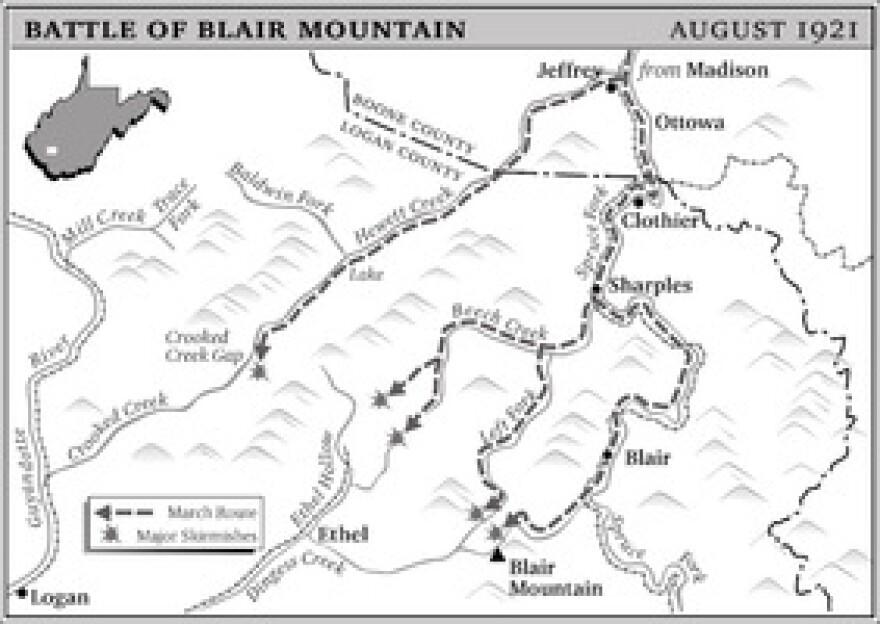 Blair Mountain Battlefield