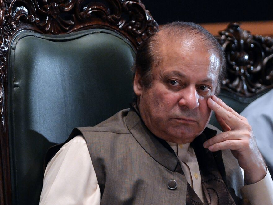 Ousted Pakistani Prime Minister Nawaz Sharif, his daughter and his son-in-law all received prison sentences Friday for their roles in the massive corruption scandal that brought down his premiership.