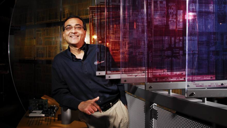 "Ajay Bhatt led the team at Intel that created the USB. ""In hindsight, based on all the experiences that we all had, of course it was not as easy as it should be,"" he says."