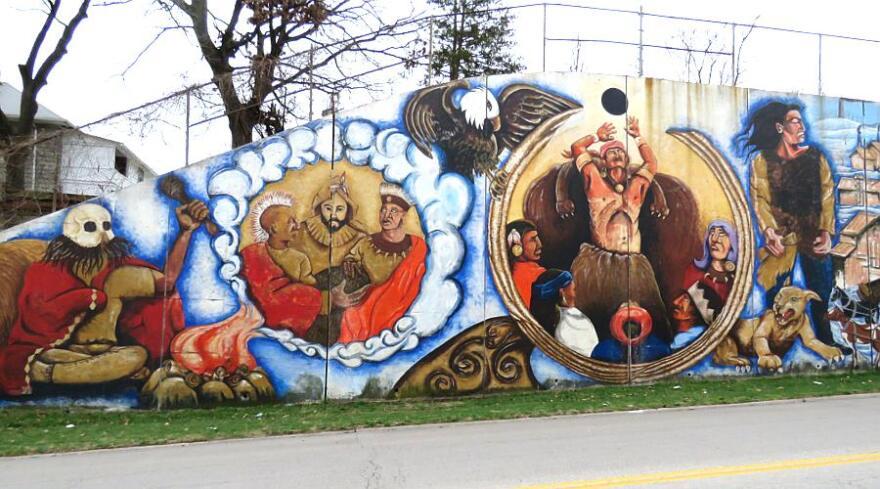 Argentinian fresco