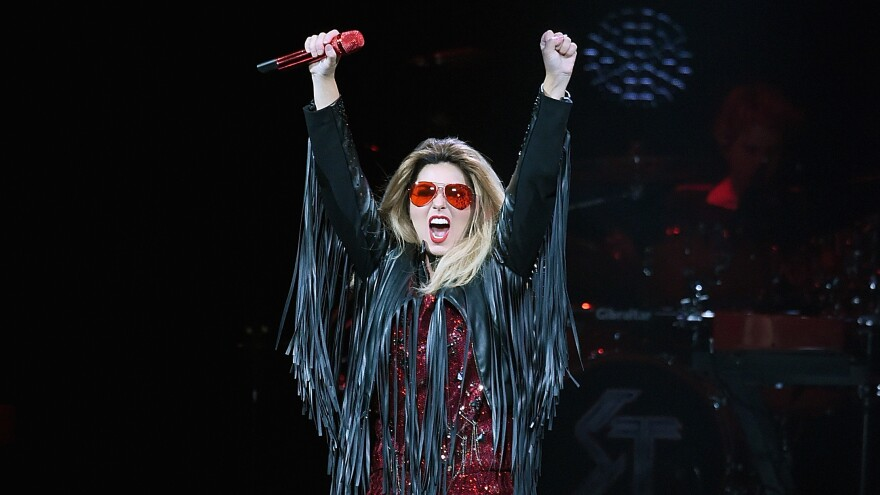 Shania Twain onstage at Madison Square Garden on June 30, 2015 in New York City.