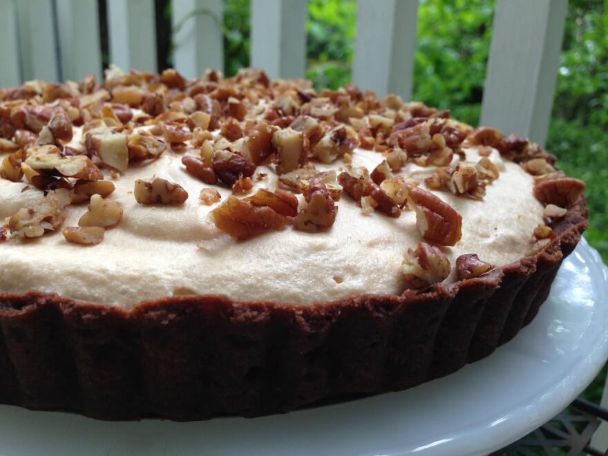 Chocolate Lovers' Butterscotch Chiffon Tart