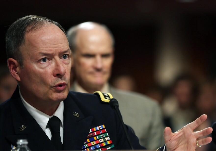 Gen. Keith Alexander, director of the National Security Agency, in June 2013.